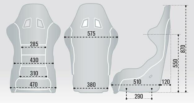 スパルコ シート レブ サイズ sparco rev