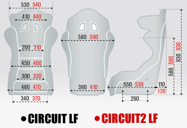スパルコ シート バケット サーキット sparco CIRCUIT LF