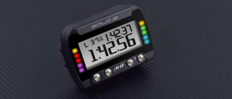aim solo2 GPSラップタイマー