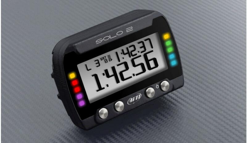 aim solo2 dl GPSラップタイマー LED ランプ
