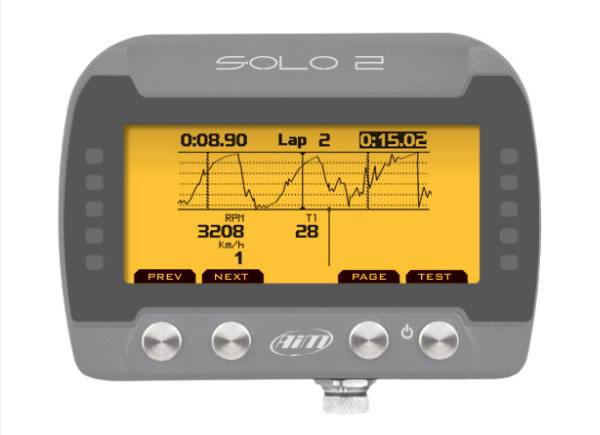 aim solo2 dl GPSラップタイマー モニター