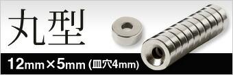 12mmx5mm(皿穴4mm)