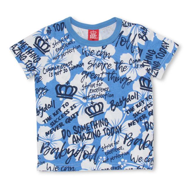 BABYDOLLのトップス/Tシャツ|ブルー
