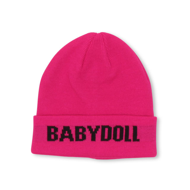 BABYDOLLの帽子/ニット帽|ラズベリー