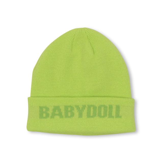 BABYDOLLの帽子/ニット帽|ライム