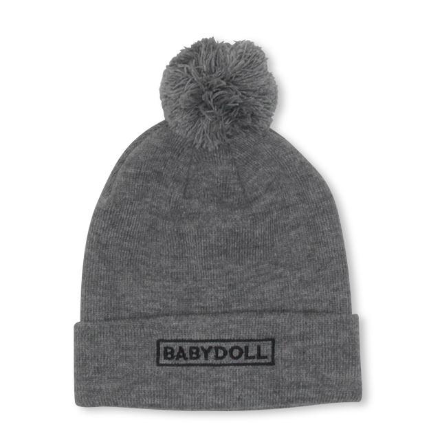 BABYDOLLの帽子/ニット帽|グレー