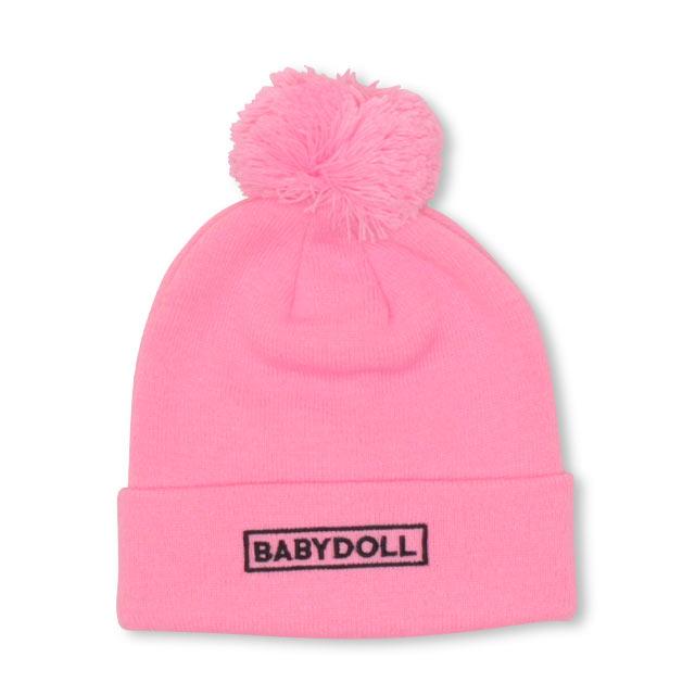 BABYDOLLの帽子/ニット帽|ピンク