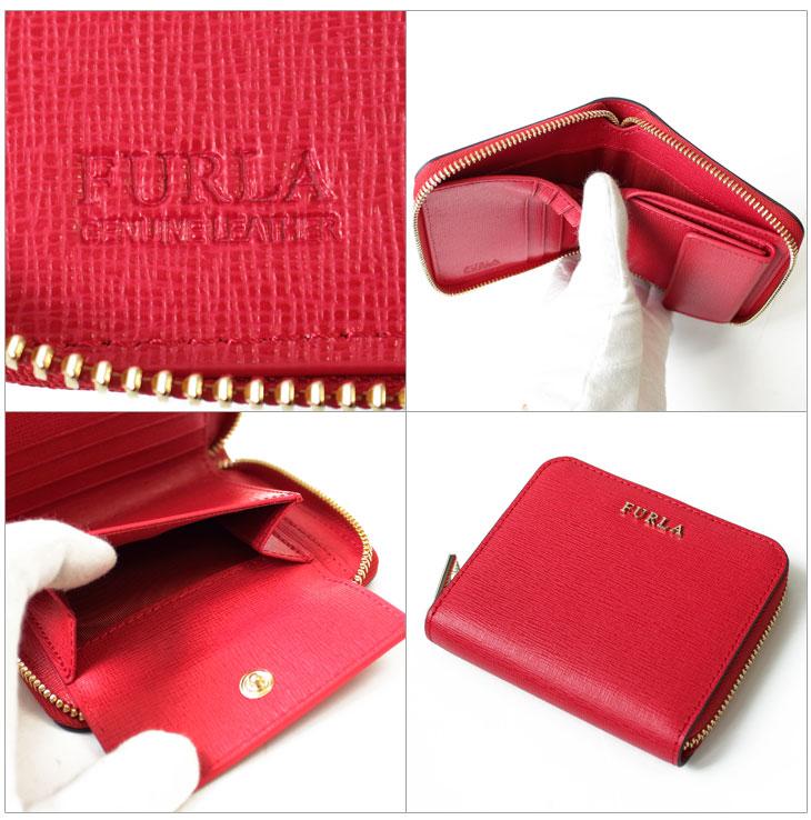 14178064ee4b フルラ フェラガモ FURLA ラウンドファスナー二つ折り財布 2つ折り財布 ...