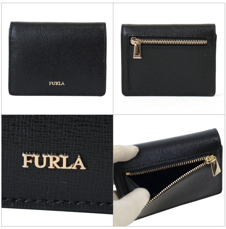 991e59a2331a ボローニャ発のブランド、フルラの二つ折り財布【BABYLON(バビロン)】です。  フロントの光るロゴが素敵!シンプルなデザインですが上品な型押しレザーで高級感のある ...
