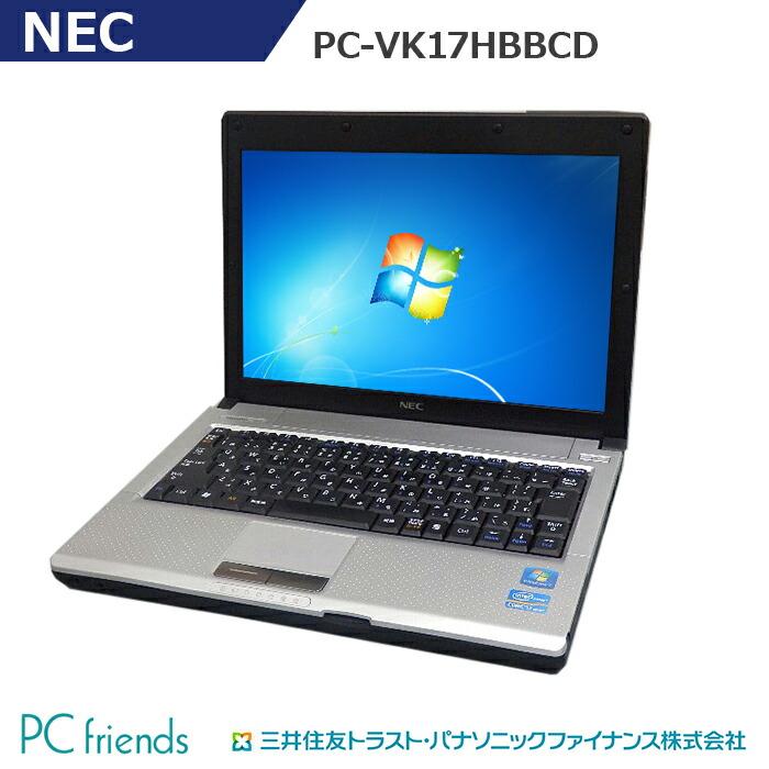 ノートPC PC-VK17HBBCD
