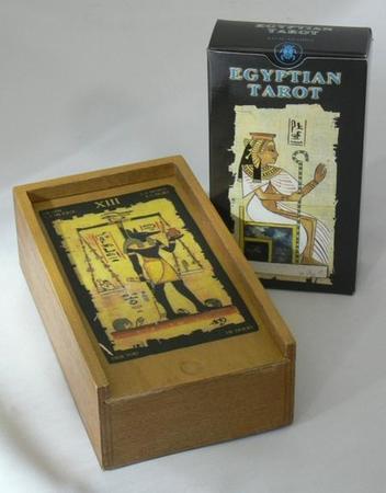 エジプシャン・タロット&ボックス/Egyptian Tarot&Box