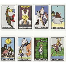 不思議の国のアリス・タロット/The Wonderland Tarot in a Tin