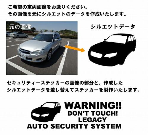 セキュリティーステッカー車両画像変更方法