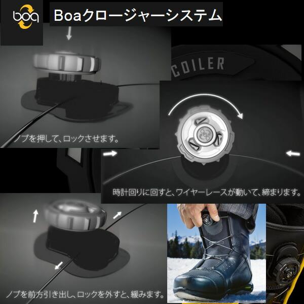 boaシステムブーツ