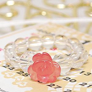 ローズリング(薔薇) インカローズ<天然石リング>