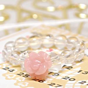 ローズリング(薔薇) ピンクオパール<天然石リング>