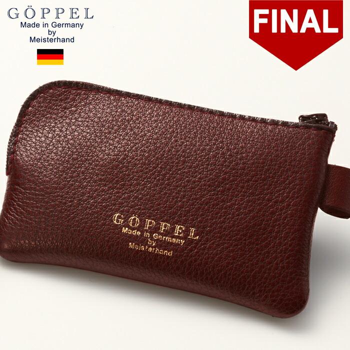 ゲッペル ドイツブランド 本革 極小 ミニ 財布 三つ折り