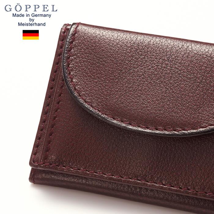ゲッペル ドイツブランド 本革 ドイツ製 三つ折り財布