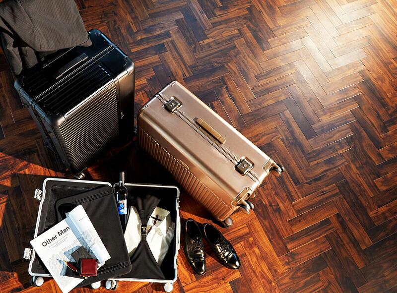 スーツケース アルミ