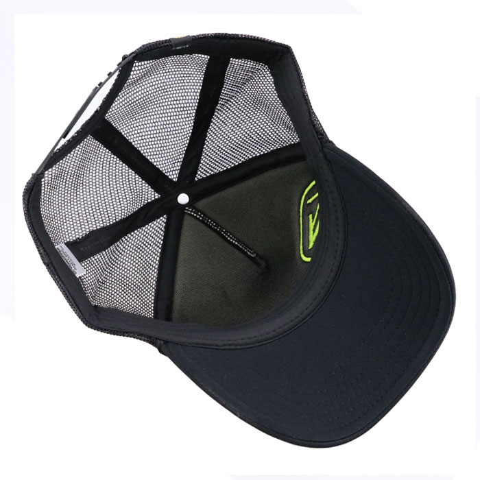 ボンジッパー メッシュキャップ スナップバックキャップ VONZIPPER CAP 黒色