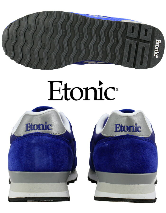 Etonic エトニック MAESTRO1985 マエストロ EMLJ17-02-103 スエード ネイビーシルバー