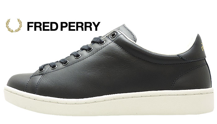FRED PERRY BREAUX ネイビー ローカット