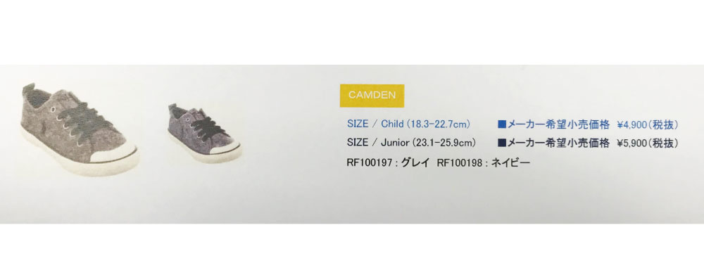 Polo Ralph Lauren POLO Ralph Lauren sneakers low-frequency cut sneakers  pony embroidery gray navy CAMDEN / RF100197 RF100198