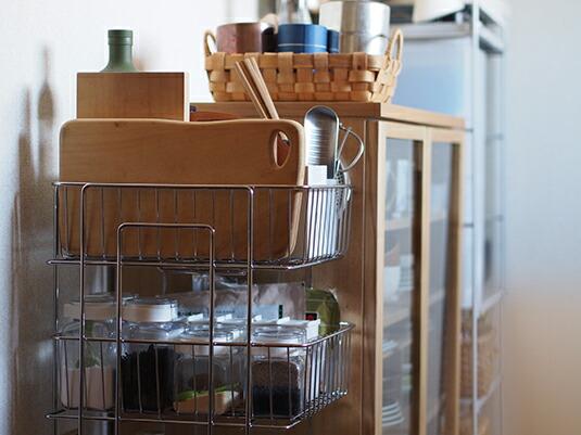 時短につながる、キッチンストッカー活用法