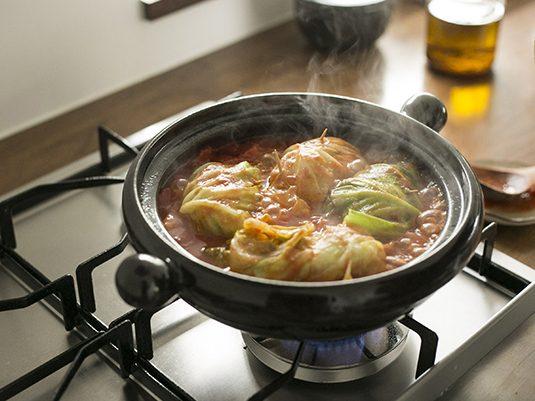浅鍋でロールキャベツから熱々グラタンまで