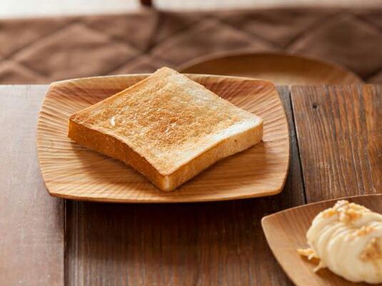 朝食のトーストがちょっと特別になるお皿