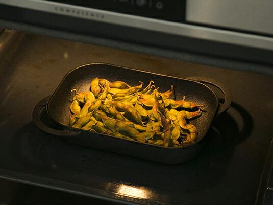 普通の枝豆がこんなに香ばしくなるなんて