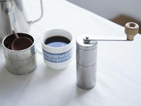 一人分のコーヒー豆を、風味良く挽ける道具