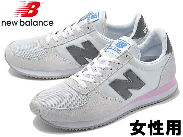 6d662498ba040 ニューバランス WL220 ワイズ:B 女性用 Slipdress NEW BALANCE WL220AA ...