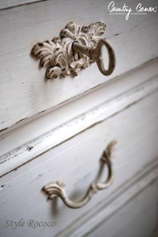 カントリーコーナー 【Country Corner】 Trianonコレクション 【ダブルベッド・フレームのみ】 アンティーク ベッド antique bed ベット フレンチカントリー 姫系 シャビーシック フランス