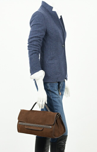 ZANELLATO ザネラート 【NINNA JONES】ニーナ 牛革ヌバック GRACE ワンハンドル 3WAY バッグ