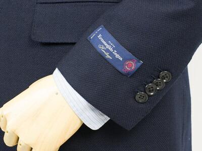 Style Edition スタイルエディション Ermenegildo Zegna エルメネジルド ゼニア Heritage【ヘリテージ】 ホップサップ 553701 NAVY 2ボタン ジャケット