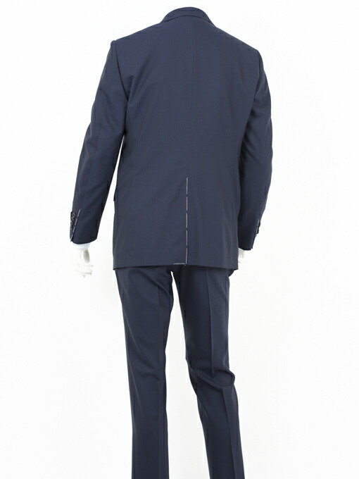 Style Edition スタイルエディション Ermenegildo Zegna エルメネジルド ゼニア COOL EFFECT シャドウストライプ ブライトネイビー スーツ