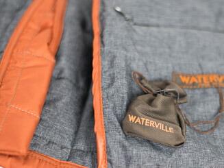"""Waterville ウォータービル """"本格イタリーキルティングジャケットの先駆者""""3ボタン段返りキルティングNAVY ジャケット"""