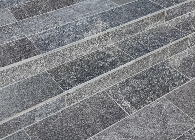 庭 ガーデニング  敷石 平板の施工写真真