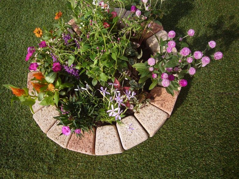 花壇用レンガ
