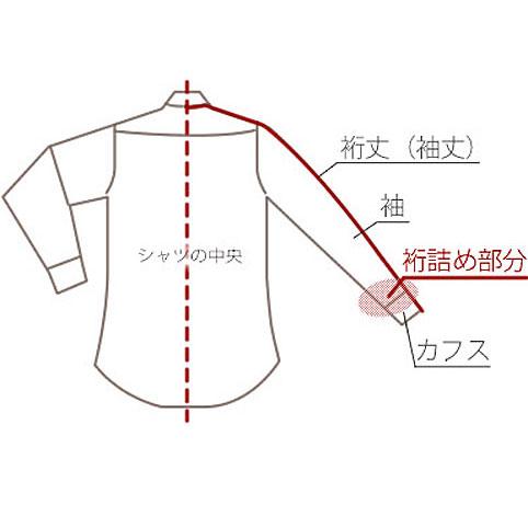 yukitume 【シャツの袖丈 お直し...