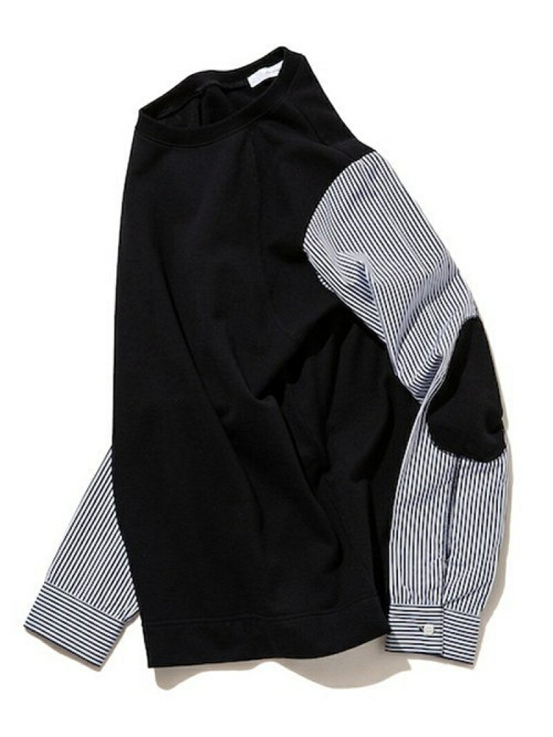 rehacer Fusion Stripe SW Cutsew レアセル カットソー【送料無料】