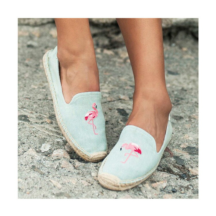 Embroidered Smoking Slipper Soludos Su95yX8