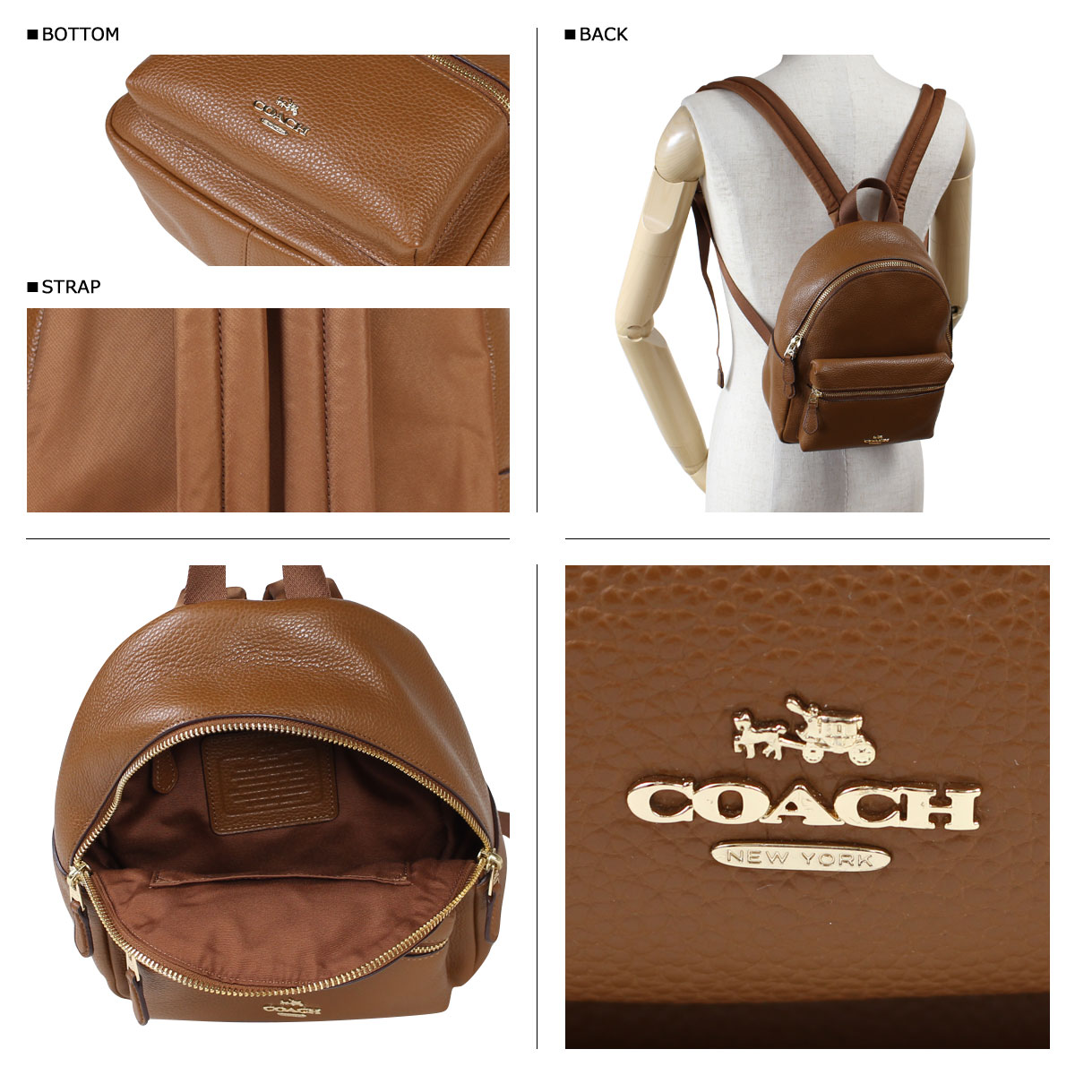 37d776b477 ... promo code for coach charlie pebble leather backpack f38288 source  sugar online shop rakuten global market