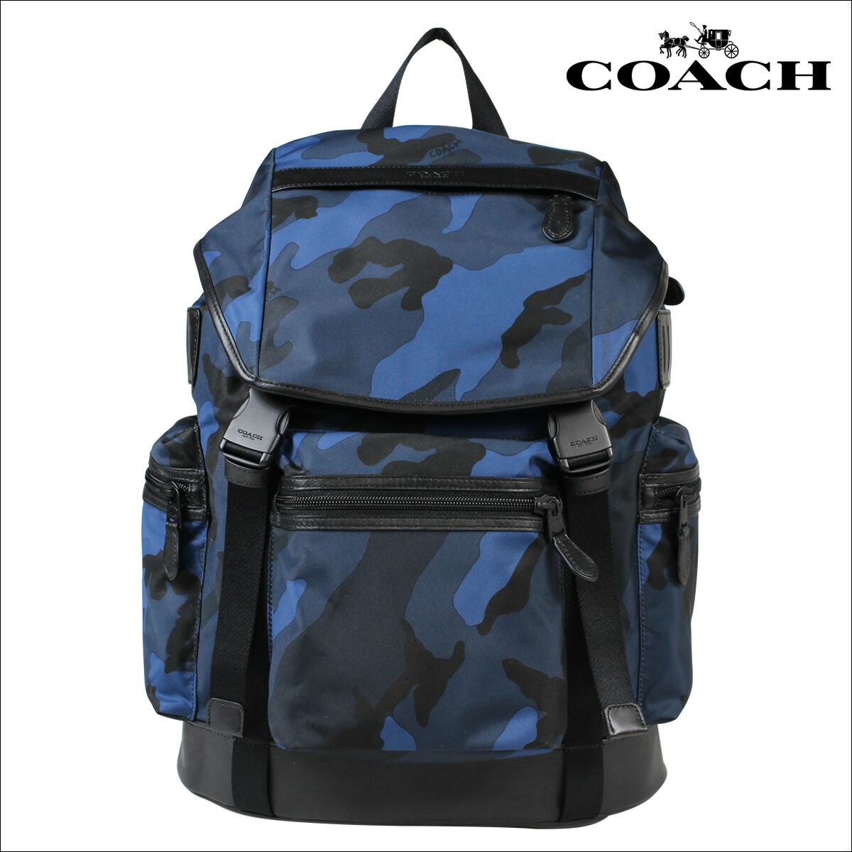 74ab459db981 COACH コーチ ブーツ メンズ クロックバンド バッグ リュック バックパック 海外 F54783 ネイビーカモ  [S10][返品]:シュガーオンラインショップ 送料無料 コーチ ...