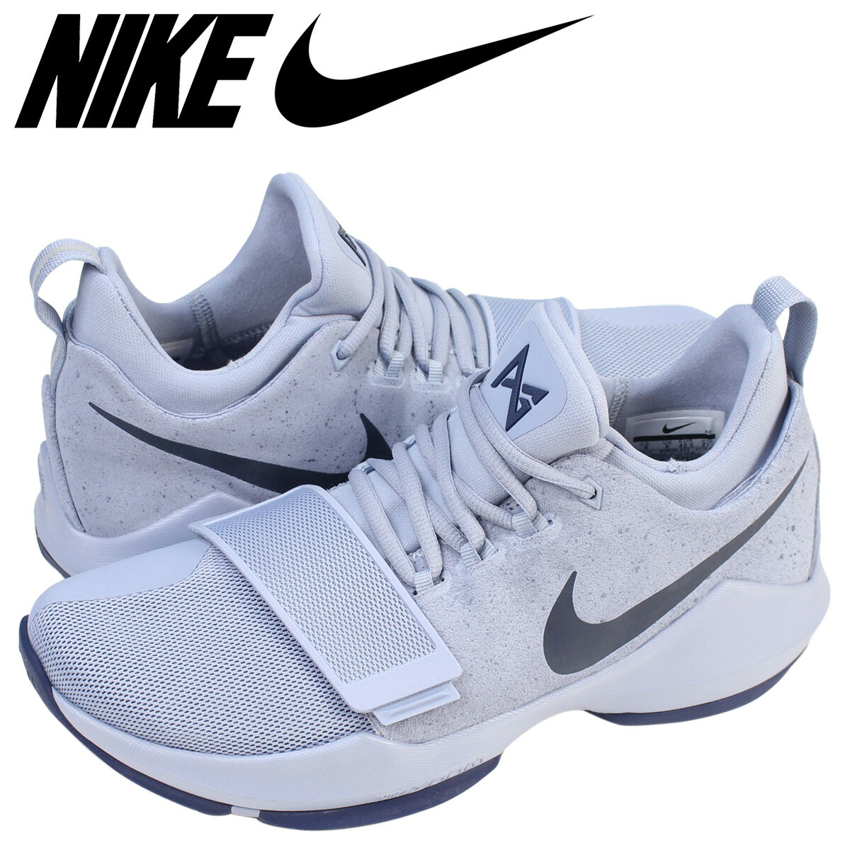 NIKE Nike PG1 sneakers PG 1 EP 878,628 044 men's shoes gray