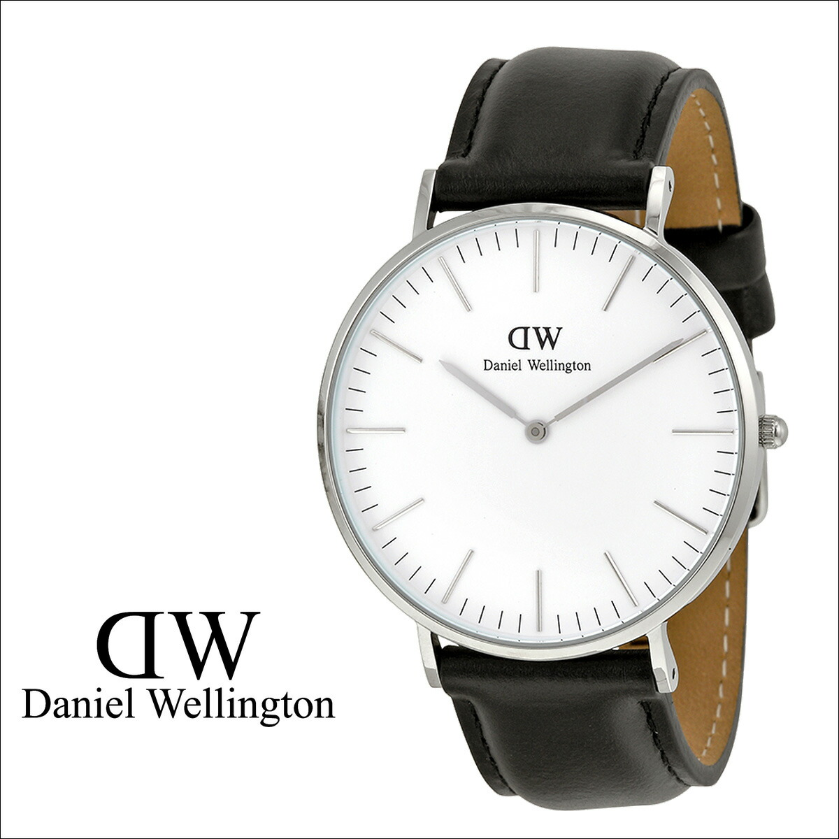c535a7f251dce DANIEL WELLINGTON BLACK SILVER WATCH BASIC - Ecosia