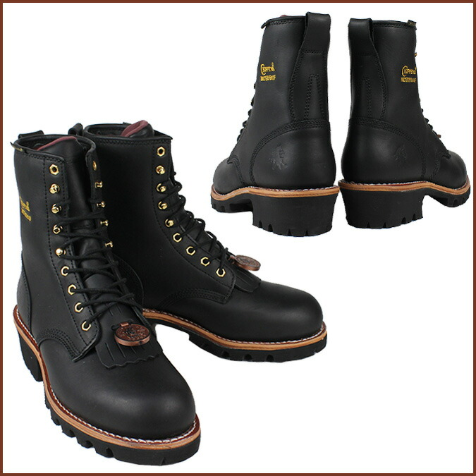 Sugar Online Shop Black Chippewa Chippewa Work Boots