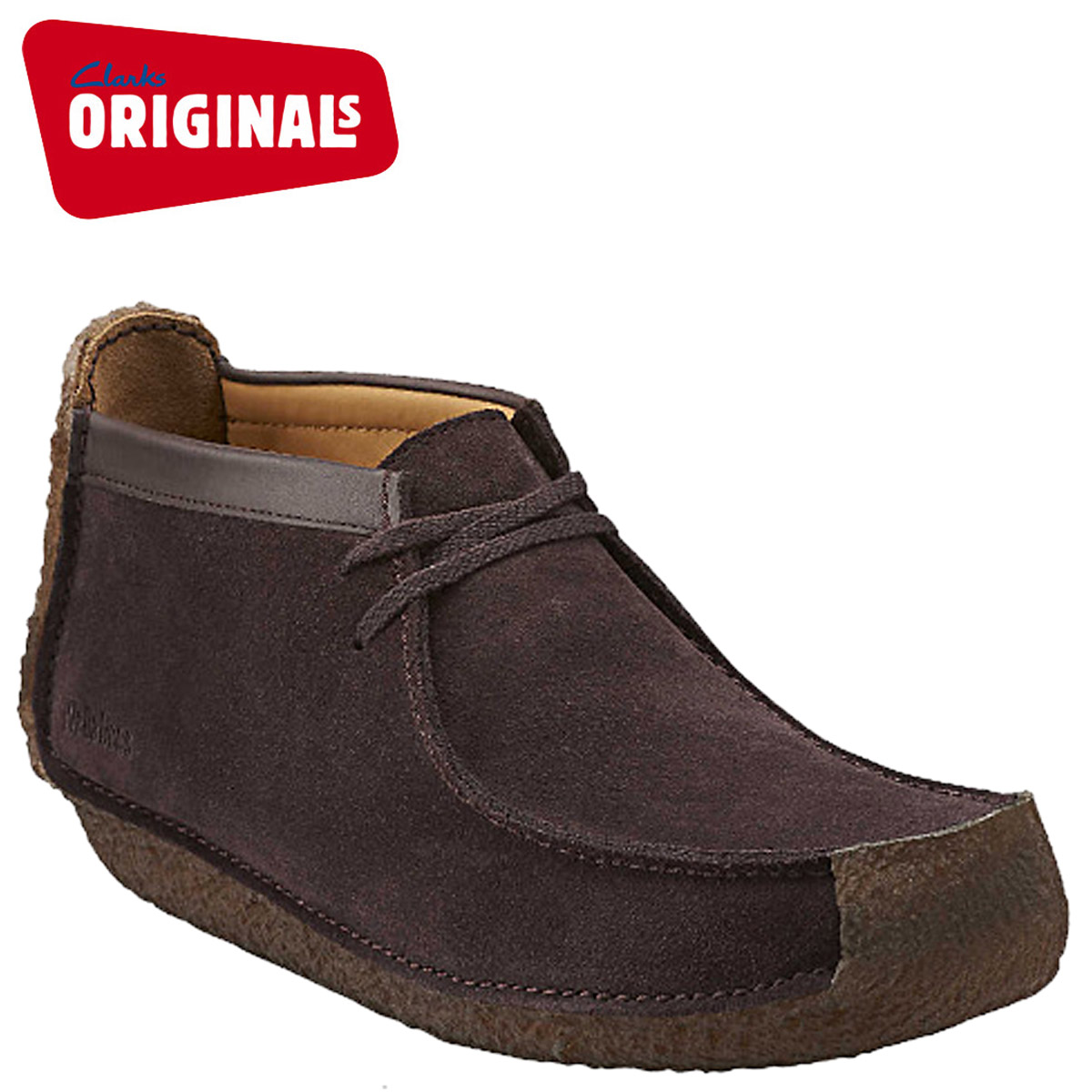 low price sale 50-70%off new lower prices Clarks ORIGINALS kulaki originals red red land wallaby REDLAND 66279 men