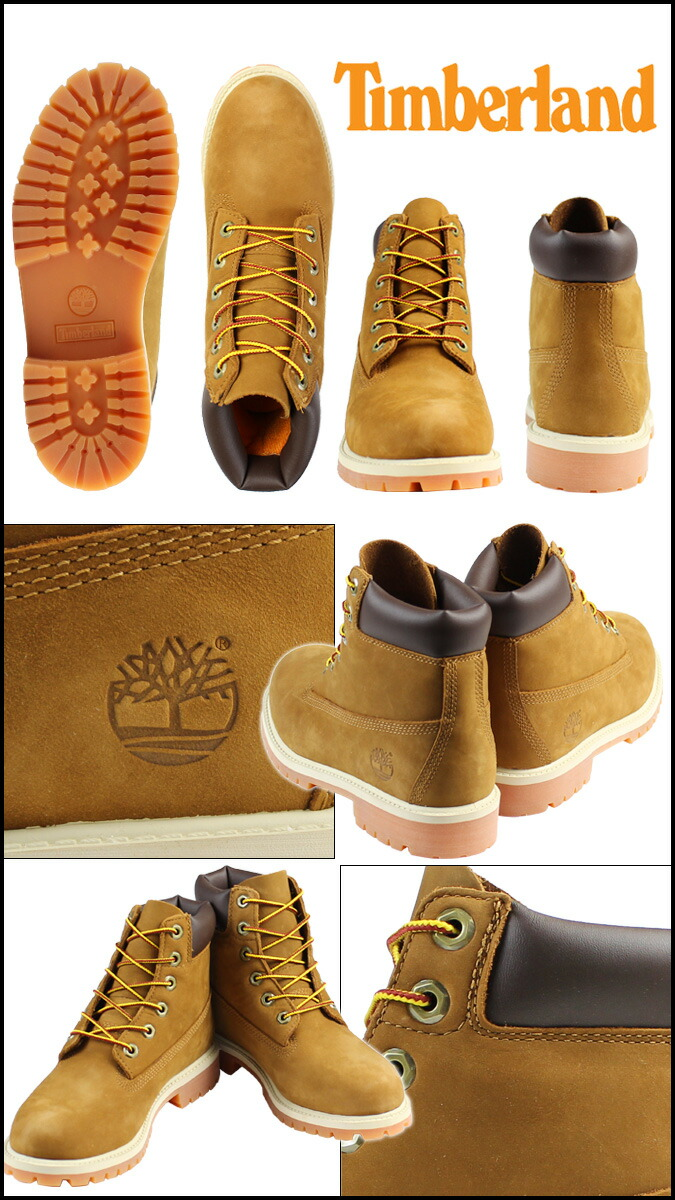 bab1d1ee68b6 Timberland Timberland waterproof 6 inch premium boots 14949 6inch Premium  Waterproof Boot nubuck junior kids child ladies